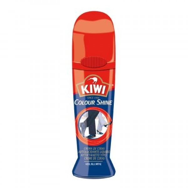 Kiwi crema de ceras calzado azul 75ml