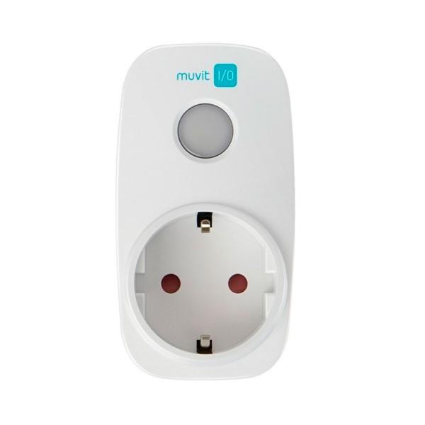 Muvit miosmp002 enchufe inteligente con wifi led temporizador y monitor de consumo