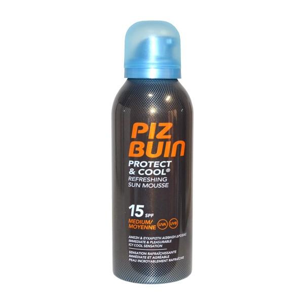 Piz buin protect cool refreshing sun mousse spf15 medium 150ml