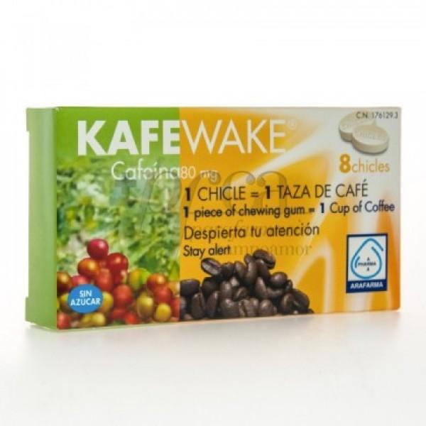 KAFEWAKE CHICLES 8 CHICLES