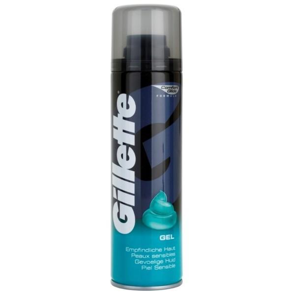Gillette  Gel de afeitar Pieles sensibles  200 ml