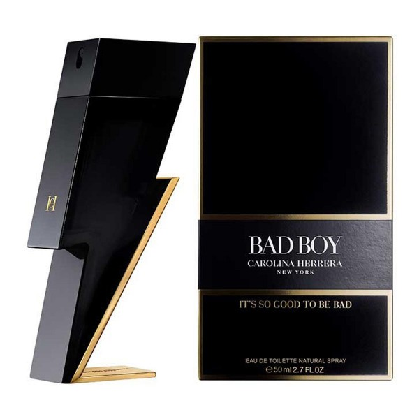 Carolina herrera ch bad boy eau de toilette 50ml vaporizador