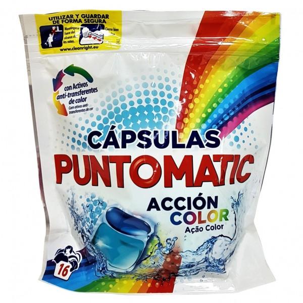 PuntoMatic Cápsulas Acción Color 16 cápsulas