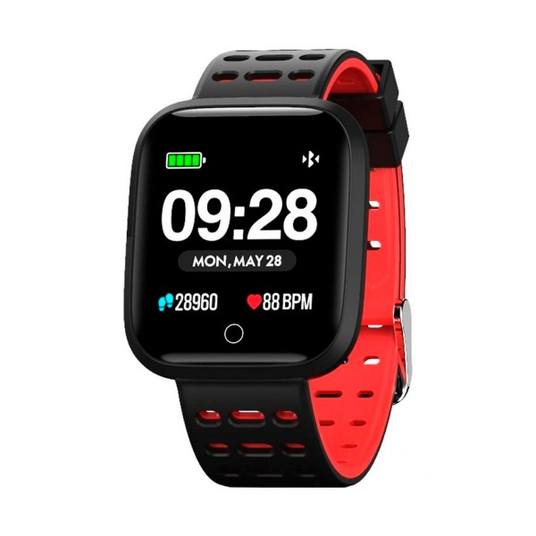 Innjoo rojo sportwatch tft 1.33'' reloj inteligente deportivo bluetooth