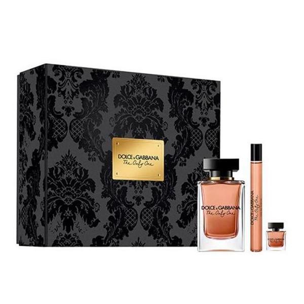 Dolcegabbana the one only eau de parfum 100ml vaporizador + eau de parfum 10ml vaporizador + miniatura 7 5ml