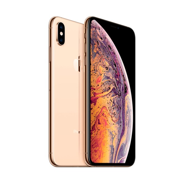 Apple iphone xs 64gb dorado reacondicionado cpo móvil 4g 5.8'' super retina hd oled hdr/6core/64gb/4gb ram/12mp+12mp/7mp