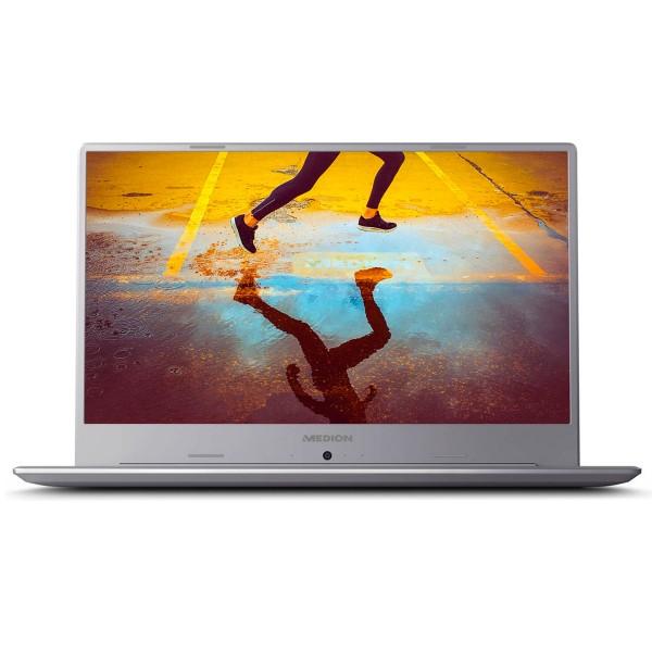 Medion p6645 plata portátil 15.6'' ips fullhd i7-8565u 4,6ghz gfmx150 1tb hdd 128gb ssd 8gb ram win10 home