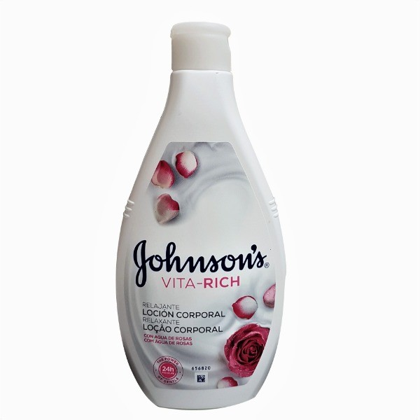 Johnson's Vita Rich loción Corporal Agua de Rosas 400 ml