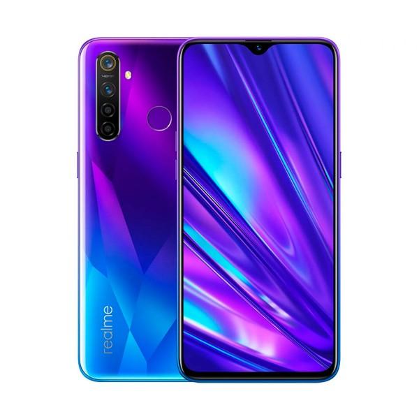 Realme 5 pro azul móvil 4g dual sim 6.3'' fhd+/8core/128gb/8gb ram/48+8+2+2mp/16mp
