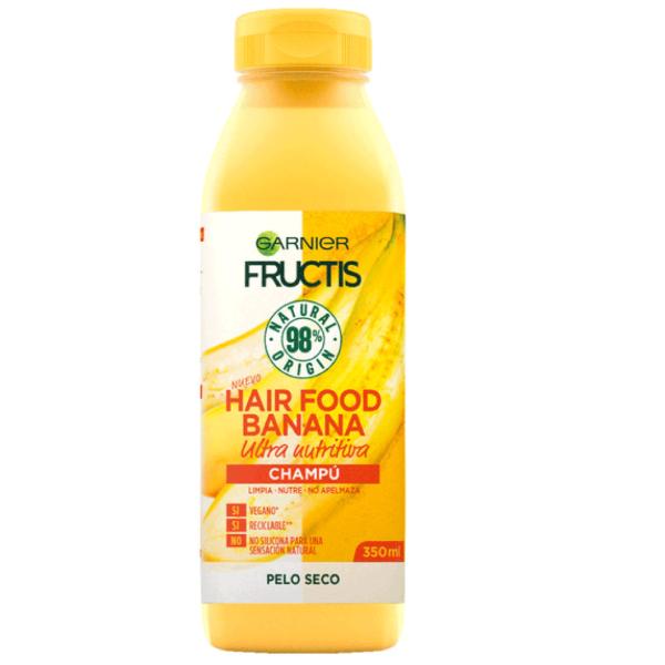 Fructis champú Banana Pelo Seco 350 ml