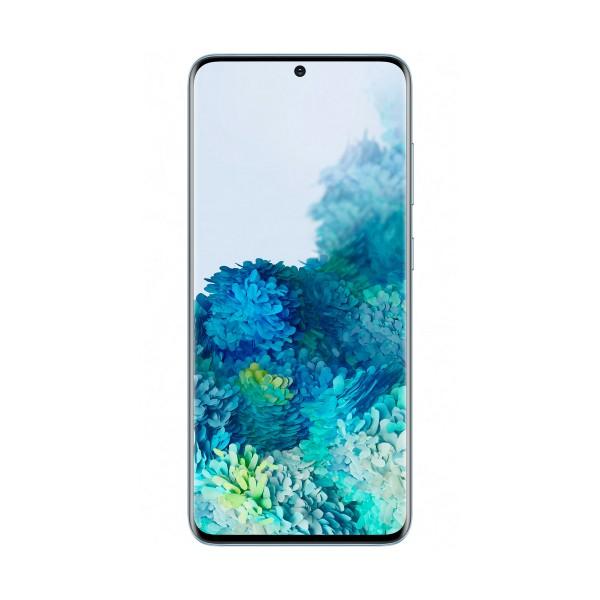 Samsung g980 galaxy s20 azul móvil dual sim 4g 6.2'' qhd+ octacore 128gb 8gb ram quadcam 64mp selfies 10mp