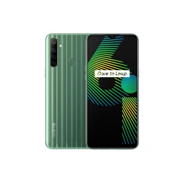 Realme 6i té verde 4g dual sim 6.5'' ips hd+/8core/128gb/4gb ram/48+8+2mp+monocromo/16mp
