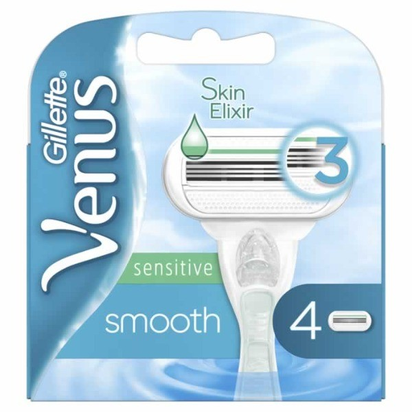 Gillette Venus recambios sensitive 4 uds