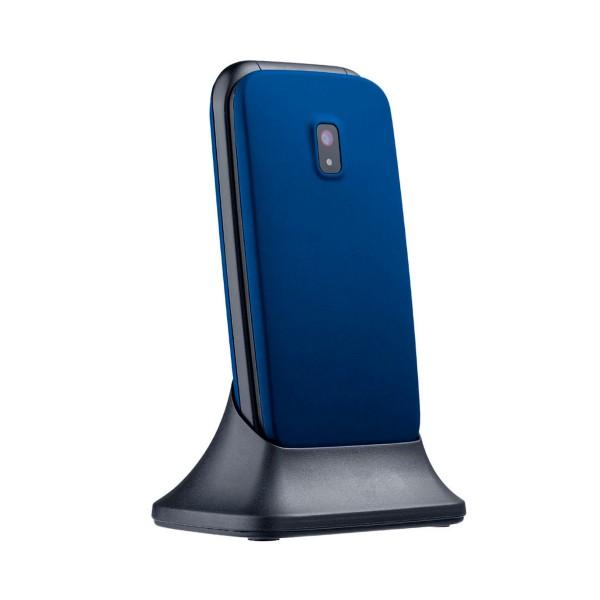 Myphone twist 2 azul móvil senior 2g 2.4'' con tapa cámara