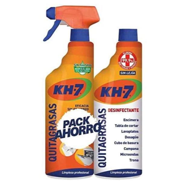 KH-7 quitagrasas pistola 650 ml + recambio desinfectante 650 ml