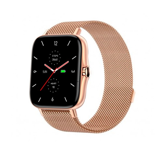 Dcu modern call bluetooth smartwatch oro rosado