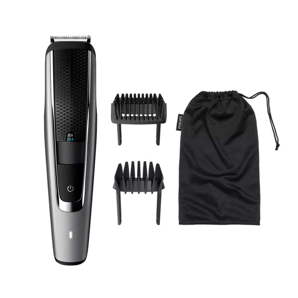 Philips bt5502/15 barbero beardtrimmer series 5000 sistema lift & trim 40 posiciones